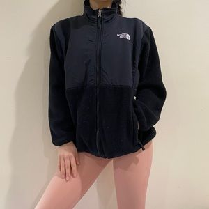 The North Face black zipper jacket
